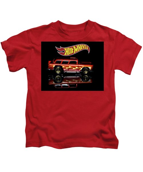 Hot Wheels '55 Chevy Nomad Kids T-Shirt