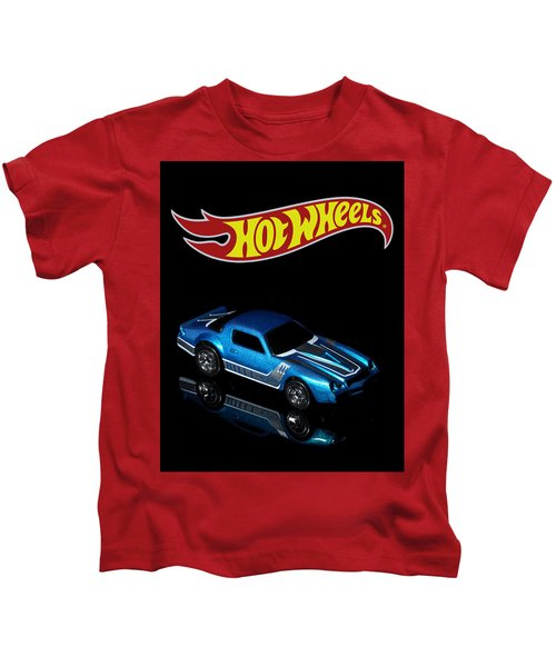 Hot Wheels 67 Pontiac Firebird 400-3 Kids T-Shirt