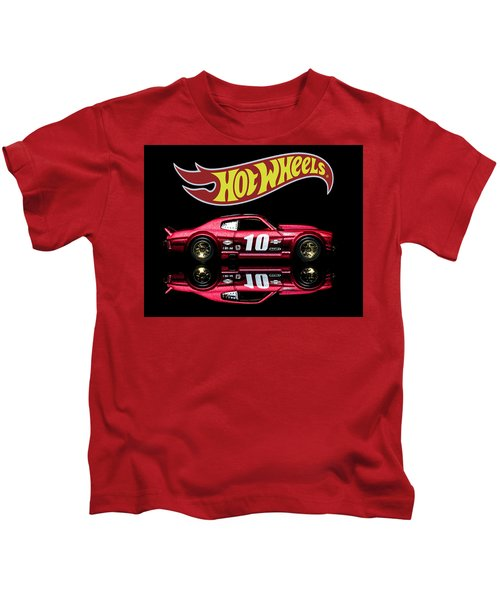 Hot Wheels '70 Chevy Chevelle-1 Kids T-Shirt