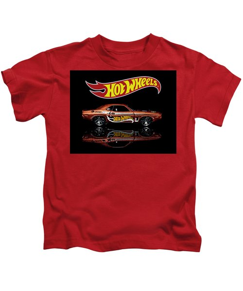 Hot Wheels '70 Dodge Challenger Kids T-Shirt