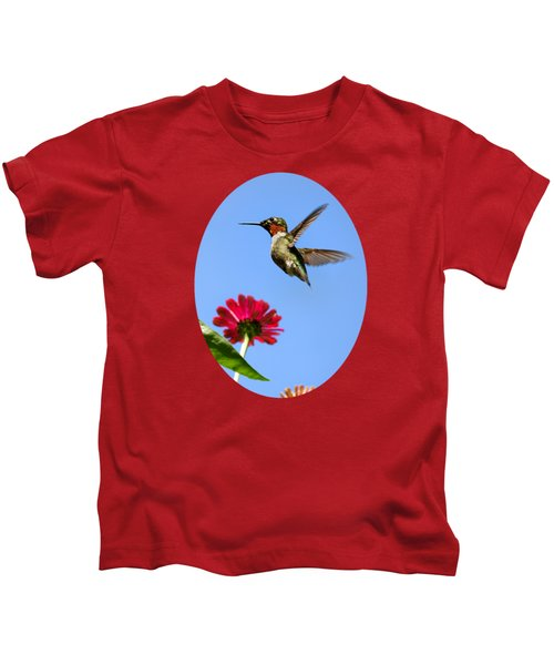 Hummingbird Happiness Kids T-Shirt
