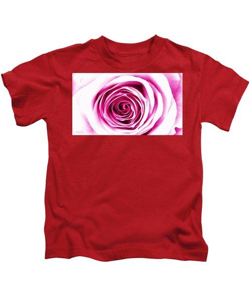 Hypnotic Pink Kids T-Shirt