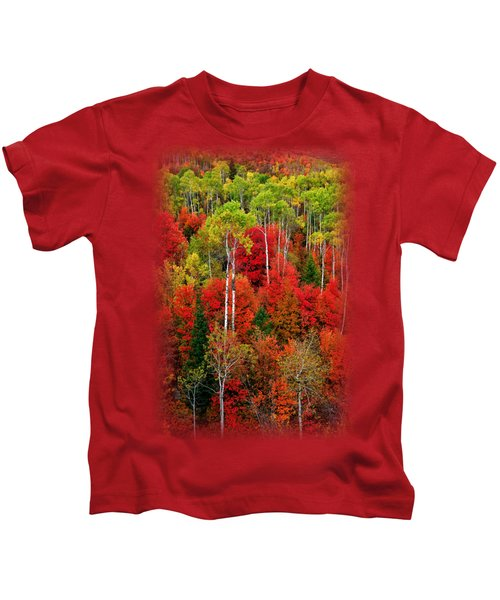 Idaho Autumn T-shirt Kids T-Shirt