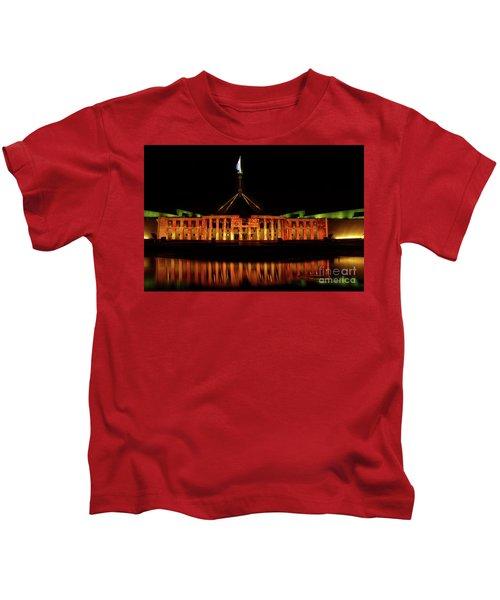 In The Light Of Magna Carta Kids T-Shirt