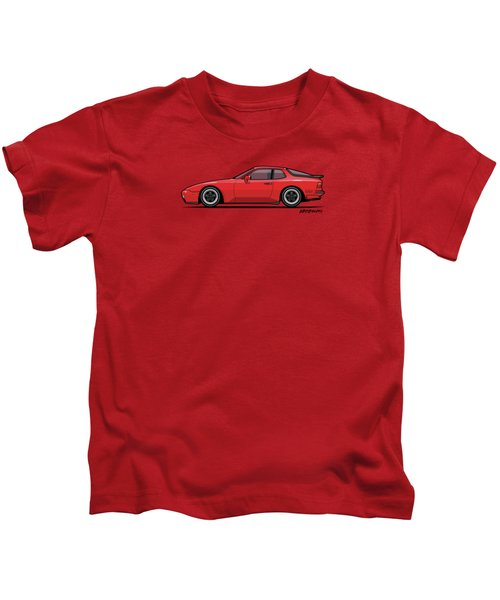 India Red 1986 P 944 951 Turbo Kids T-Shirt by Monkey Crisis On Mars