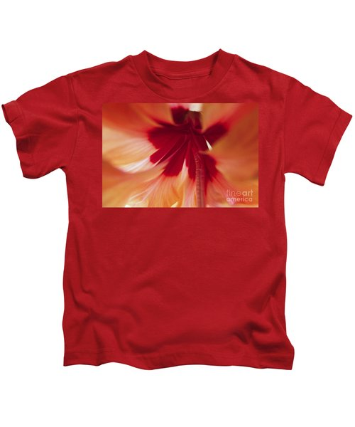 Inside Hibiscus Kids T-Shirt