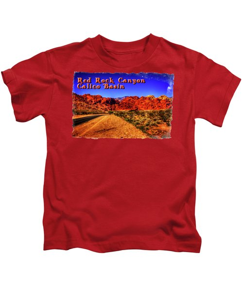 Into The Calico Basin Early Morning Kids T-Shirt