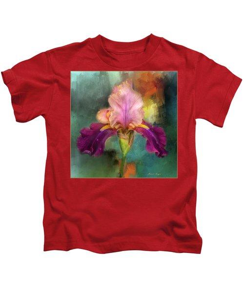 Iris Abstract  Kids T-Shirt