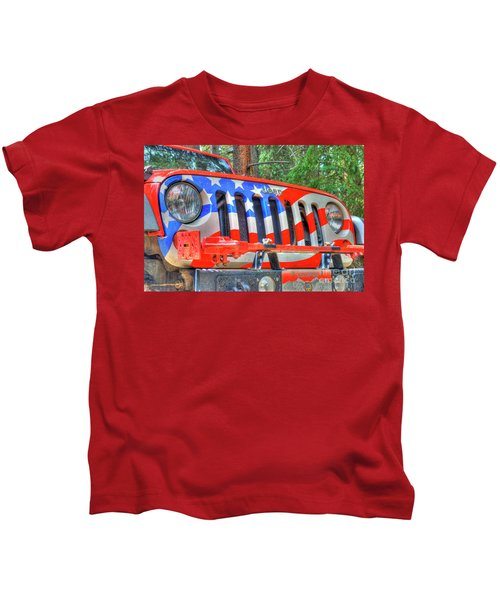 Jeep Usa Kids T-Shirt