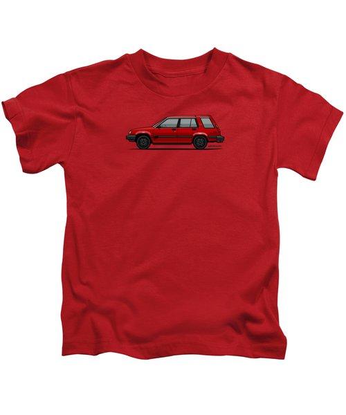 Jesse Pinkman's Crappy Red Toyota Tercel Sr5 4wd Wagon Al25 Kids T-Shirt