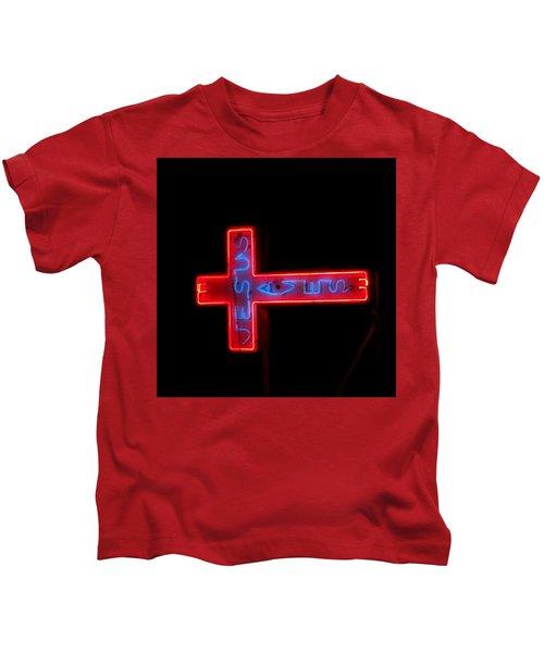 Jesus Saves At Night Kids T-Shirt