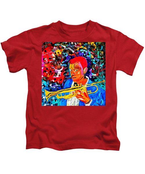 Joshua Bluegreen-cripps Kids T-Shirt