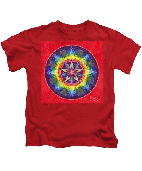 Joy Mandala Kids T-Shirt