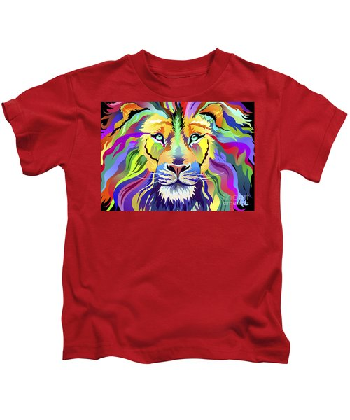 King Of Techinicolor Variant 1 Kids T-Shirt
