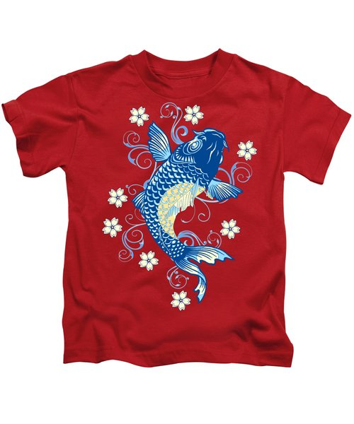 KOI Kids T-Shirt by Otis Porritt