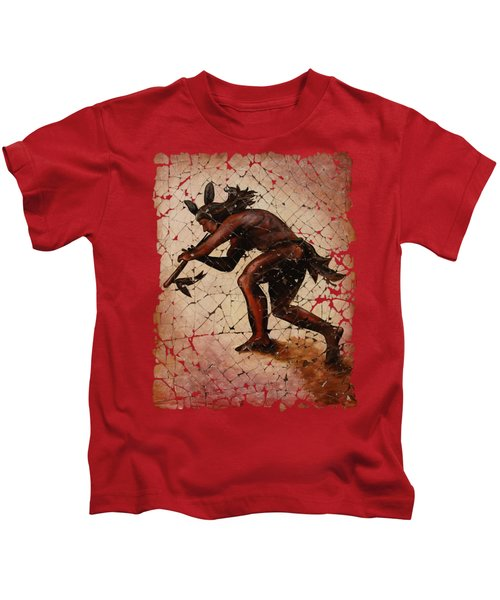 Kokopelli The Flute Player  Kids T-Shirt