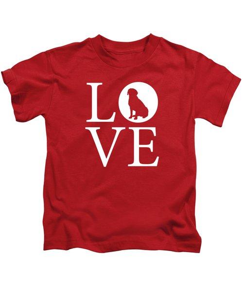 Labrador Love Red Kids T-Shirt
