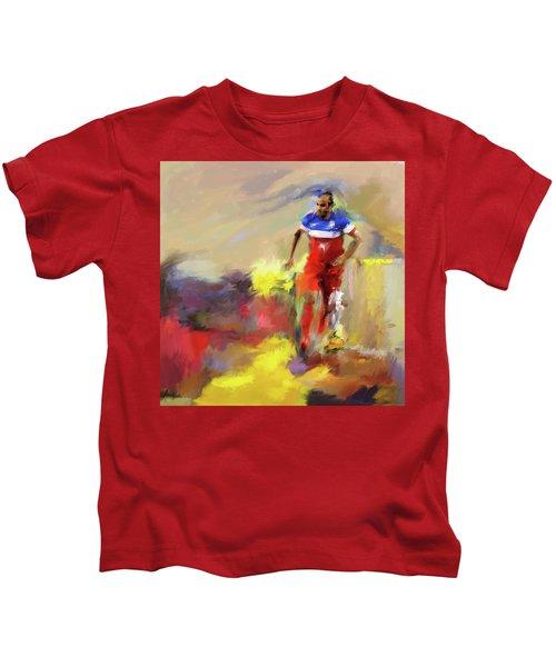 Landon Donovan 545 1 Kids T-Shirt by Mawra Tahreem