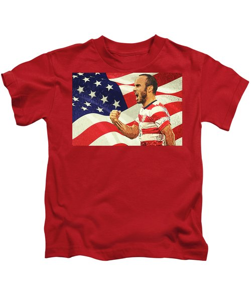 Landon Donovan Kids T-Shirt