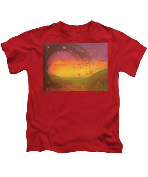 Late Fall - Tree Series Kids T-Shirt