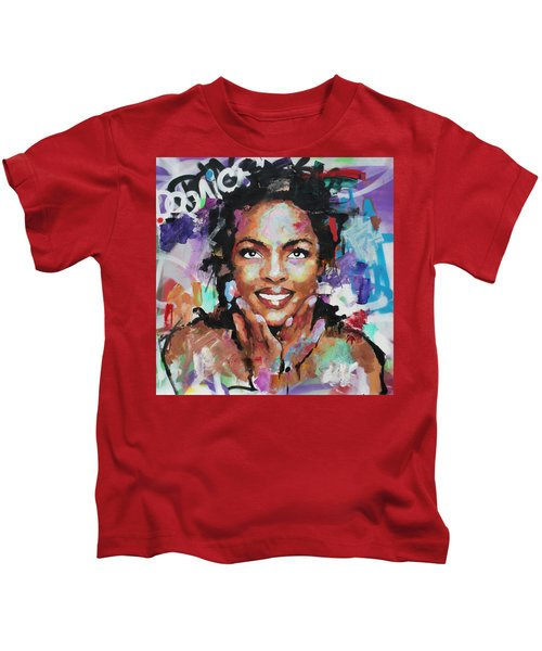 96190674c Lauryn Hill Kids T-Shirts | Fine Art America