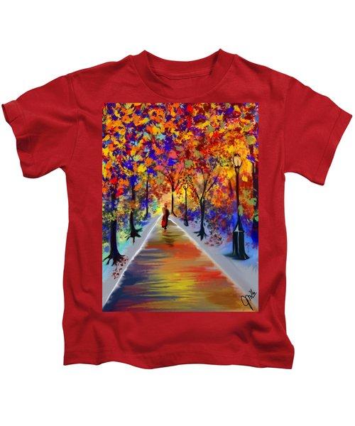 Leaving Alone Kids T-Shirt