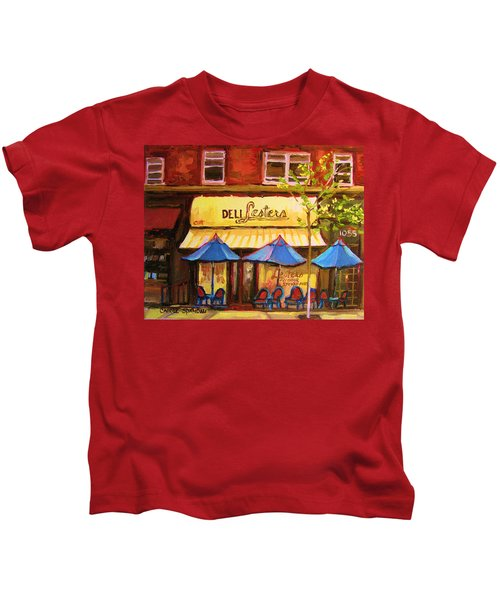 Lesters Cafe Kids T-Shirt