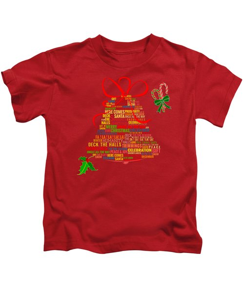 Let It Ring Words Kids T-Shirt