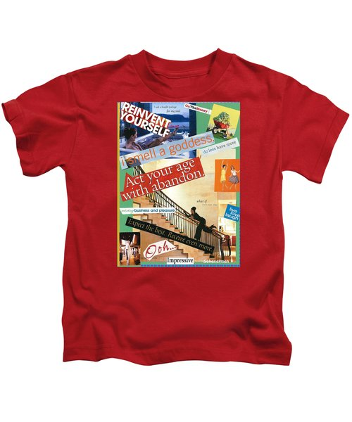 Let Yourself Go Kids T-Shirt