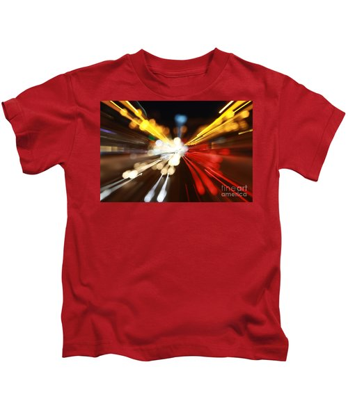 Light Trails Kids T-Shirt