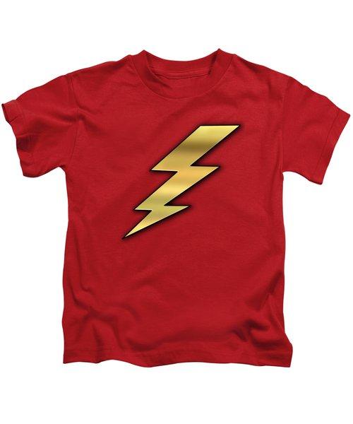Lightning Transparent Kids T-Shirt