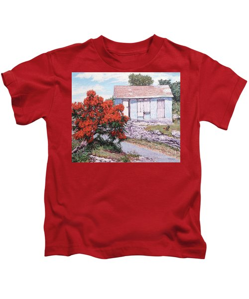Little Poinciana Kids T-Shirt