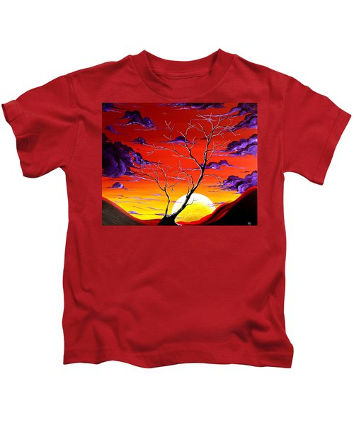 Lonely Soul By Madart Kids T-Shirt