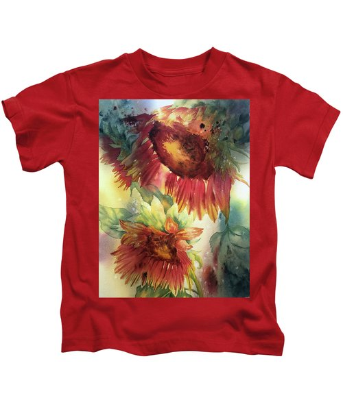 Look On The Sunny Side Kids T-Shirt