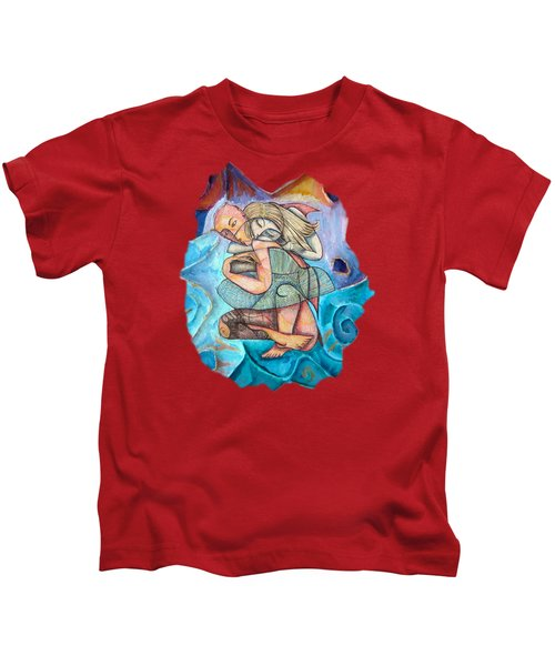 Love Conquers All Kids T-Shirt by Joanna Whitney