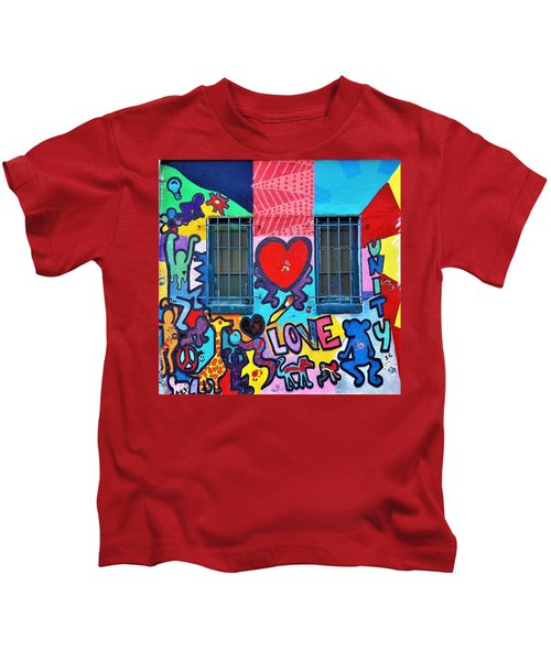 Love Haring  Kids T-Shirt
