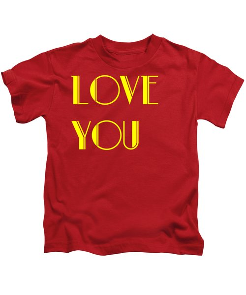 Love You Kids T-Shirt