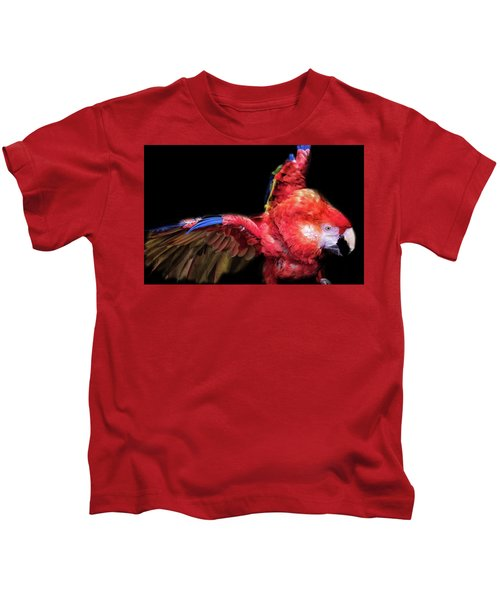 Macaw Kids T-Shirt