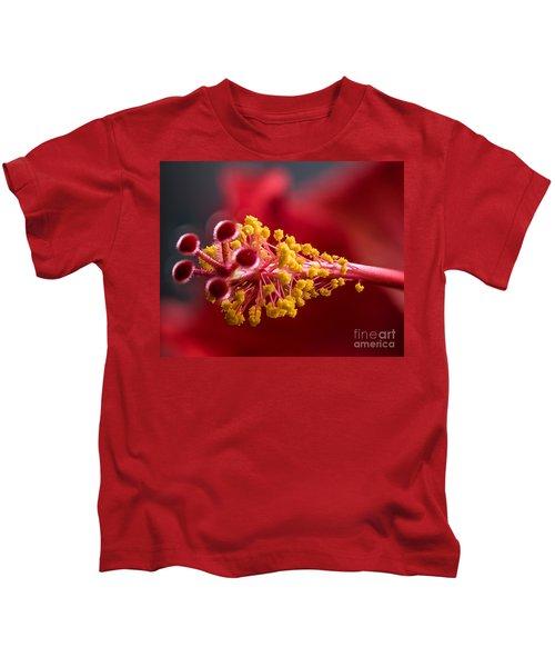Macro Flower Kids T-Shirt