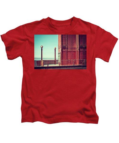 Made Of Steel Kids T-Shirt