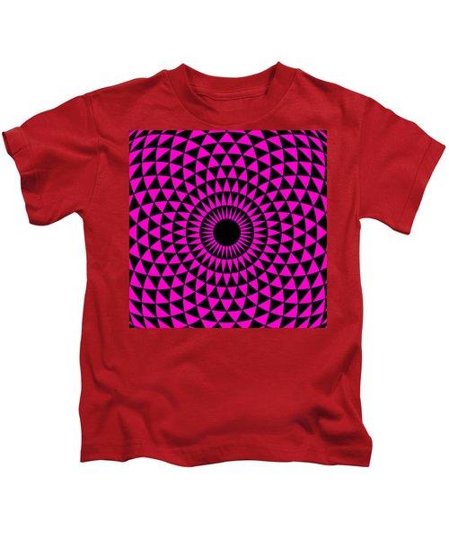 Magenta Balance Kids T-Shirt