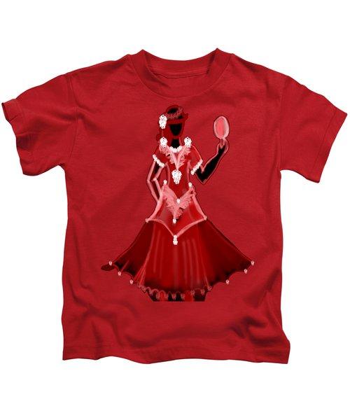 Magenta Dress Kids T-Shirt