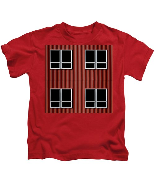 Maine Windows 3 Kids T-Shirt