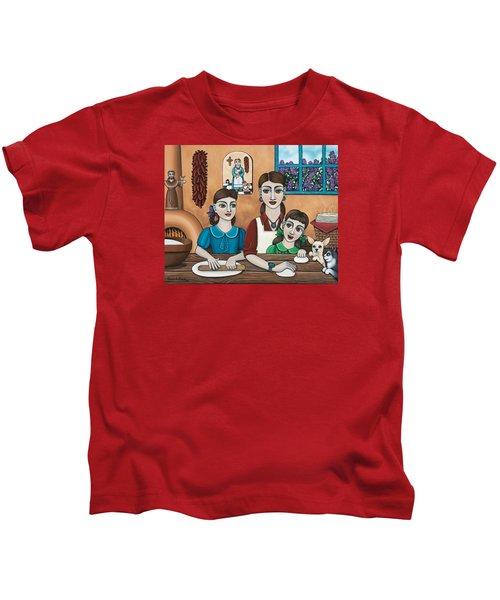 Mamacitas Tortillas Kids T-Shirt