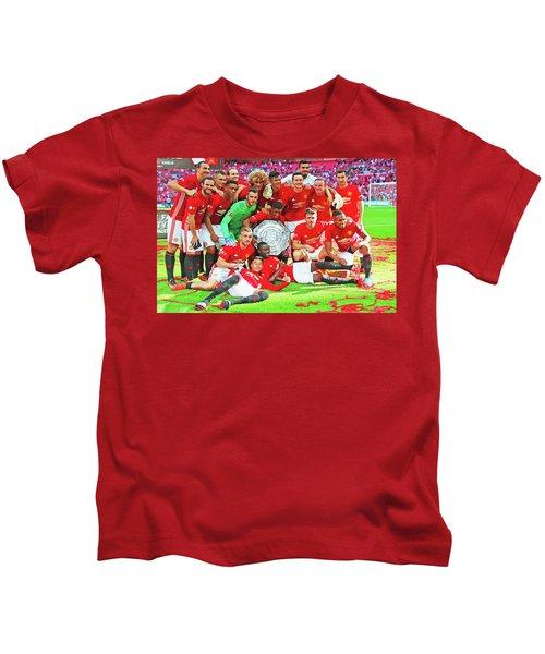 Manchester United Celebrates Kids T-Shirt