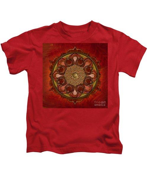 Mandala Flames Kids T-Shirt