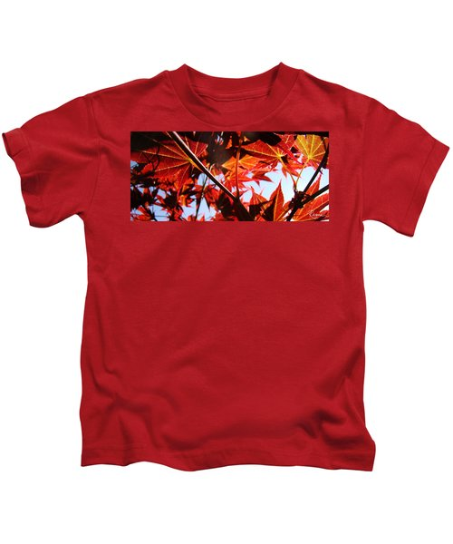 Maple Fire Kids T-Shirt