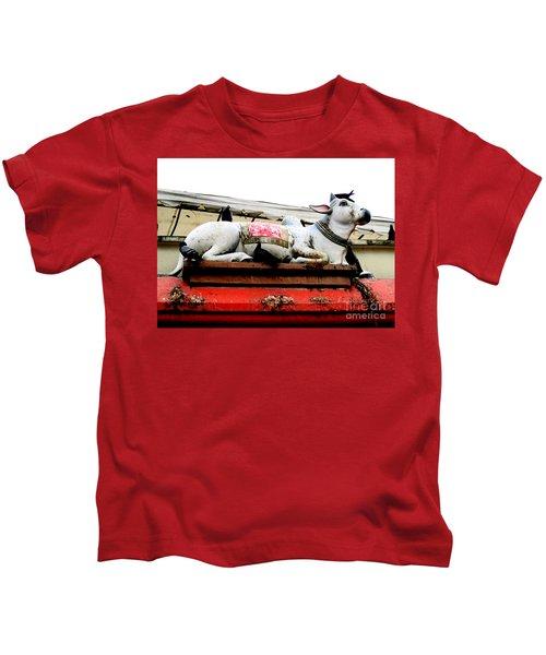 Mariamman Temple Detail 6 Kids T-Shirt