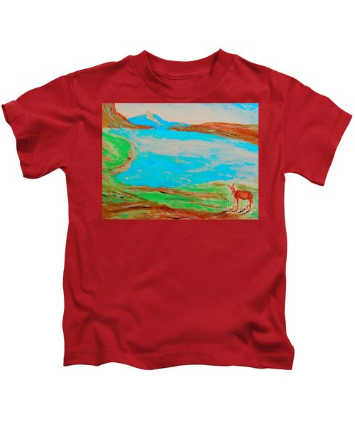 Medicine Lake Kids T-Shirt