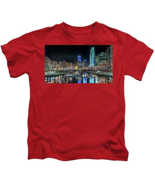Merry Christmas Omaha Kids T-Shirt